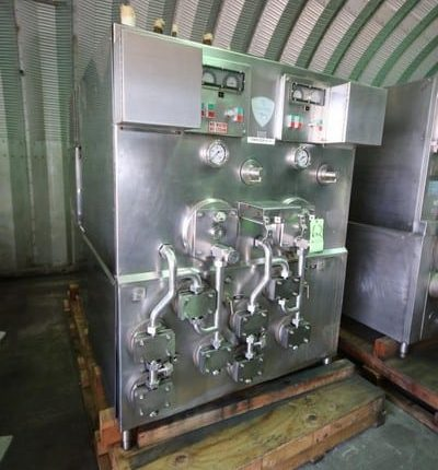 St. Regis 2-Barrel S/S Ice Cream Freezer, S/N KRM240-3102, with Gauges and Valves, Includes Some Spare Parts (Rigging & Loading Fee $450.00) (Located in Pittsburgh, PA)