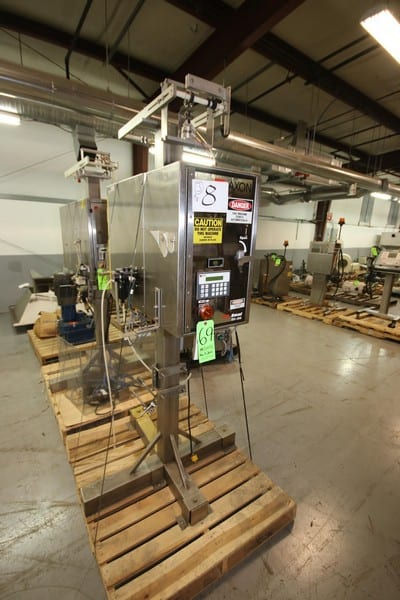 Axon Axon EZ-Seal, EZ-100, S/N A-80353, 110 Volts, Mounted on S/S Stand (Rigging - Loading Fee $75.00) (Located in Pittsburgh, PA)