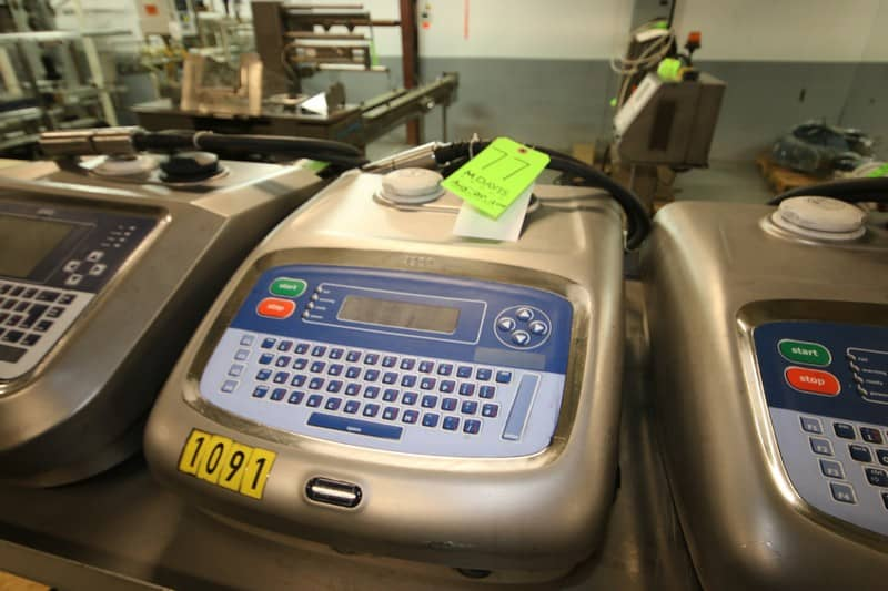 Linx Ink Jet Coder, M/N 4900, with Ink Head (Rigging & Loading Fee $75.00) (Located in Pittsburgh, PA)
