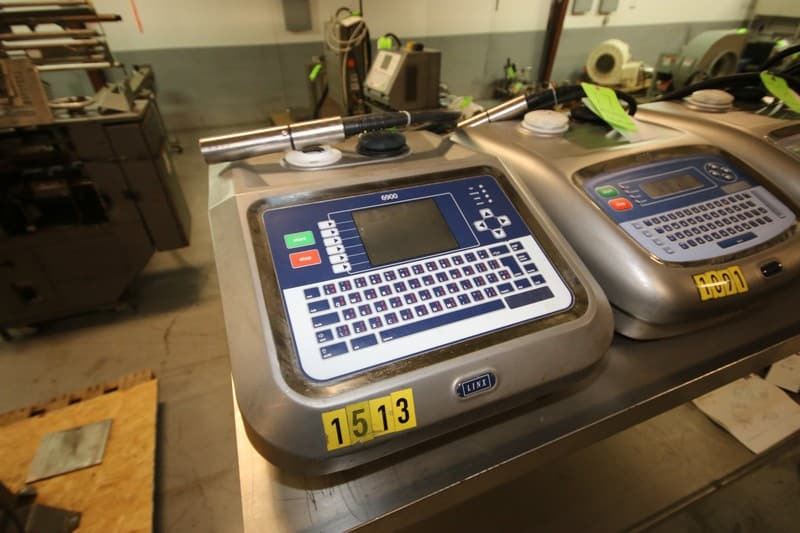 Linx Ink Jet Coder, M/N 6900 P692, S/N EH966, with Ink Head (Rigging & Loading Fee $75.00) (Located in Pittsburgh, PA)