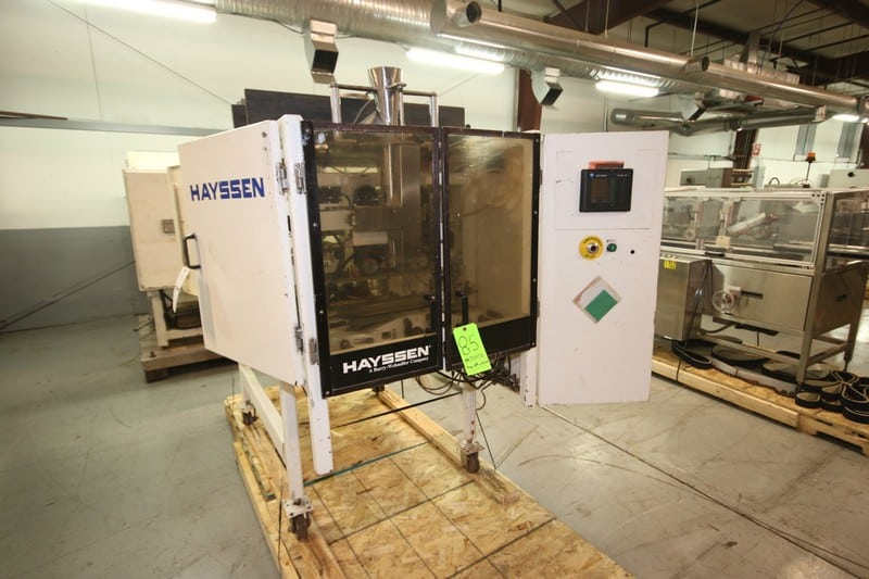 Hayssen VFFS, M/N 12-16HR, S/N X17319, 115 Volts, 1 Phase (Rigging & Loading Fee $250.00) (Located in Pittsburgh, PA)