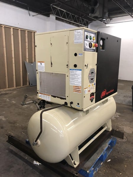 Ingersoll Rand Air Compressor, Model UP6-15CTAS-125W/D, 3 Phase, Ideal for Small Packaging Plant or Body/Mechanic Shop (***NEP/ LOCATED IN MISSOURI***)