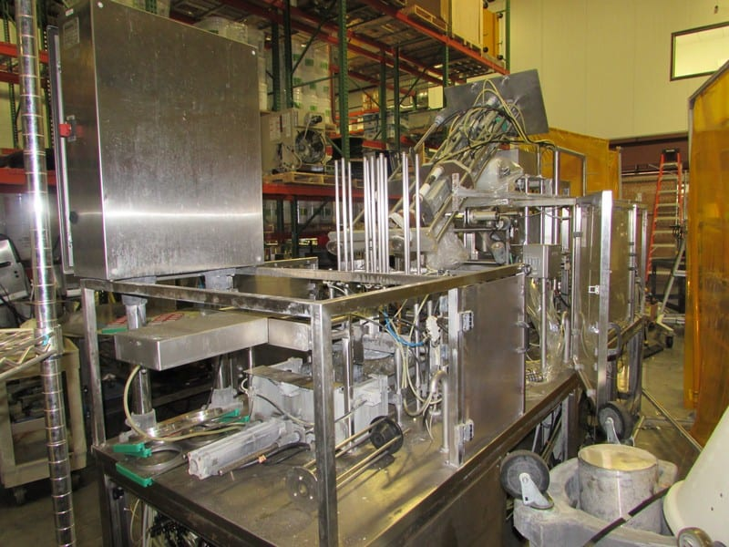 2014 Packline Filling Line PXG-2, SN PL700590, Parts Missing; 510 Cups ran 10 Oz, 17 oz &32 Oz., 44 cpm, Cost in 2014 $185,00+