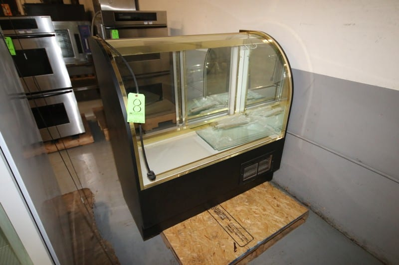 "Display Concepts Lighted Display Case, with Sliding Door and 110 Volt Outlet, Overall Dims.:  Aprox. 48"" L x 24"" W x 48"" H (Rigging & Loading Fee $25.00)(Located in Pittsburgh, PA)"