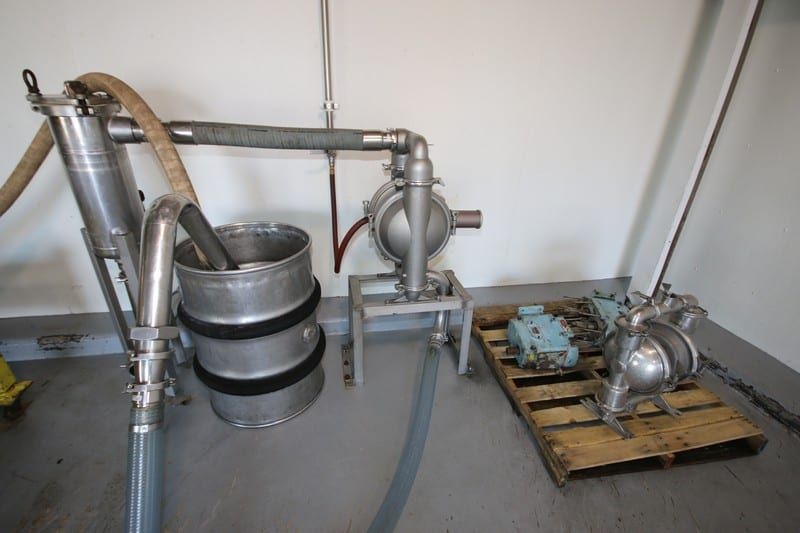Barrel Filling Room - Diaphram Pumps