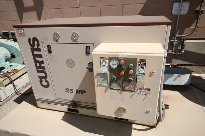 Curtis 25 hp Air Compressor - 2nd Location