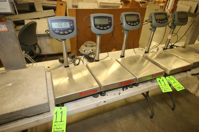 (10) Various Sized Digital Platform Scales by Fairbanks & Ohaus