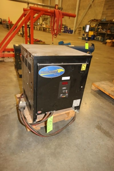 Workhorse 36 Volt Forklift Battery Charger, Series 2, M/N 18R1050E3D, S/N 04U20047, with Gray Connection
