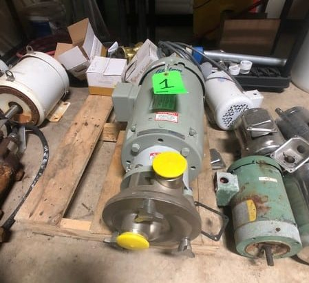 ristam Liquid Ring 7-1/2 HP Centrifugal Pump, Model FZX2150, S/N FZX721501602997, Baldor Reliance 1770 RPM Motor, 230/460 V (BELIEVED TO BE NEW)