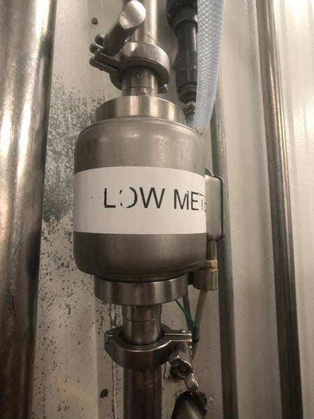 Anderson Flow Meter with Digital Read Out