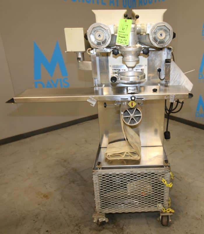 Rheon S/S Encrusting Machine, Model KN170, SN 483, 220V(Located at the MDG Showroom in Pittsburgh,