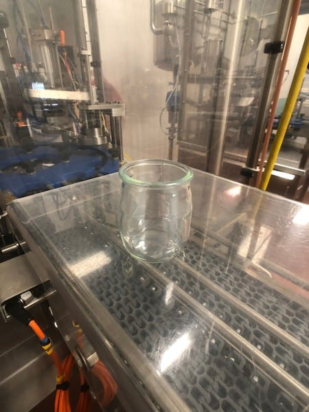 """2014 Nova (Serac Group) 12-Pocket Rotary Drinkable Yogurt Filler, Model R 16 M 95 VERRE, S/N R 14 MO 27.0, Includes (2) Foil Sealing Stations, Previously Running Glass Stanpac 5 Oz Round Bottles, Bottle Dimensions: 3"""" Tall x 3"""" Wide, 3"""" Diameter Foil Seal, 480 V"""