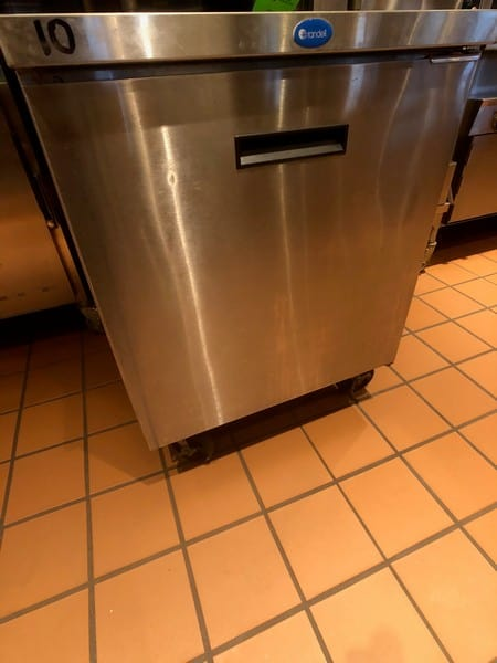 "Randell Single Door Worktop Refrigerator, Model 9402-7, S/N W1041751-1, 27"" W x 30"" D x 36"" H (Located at 6300 Northway Mall Dr., Pgh., PA 15237)"