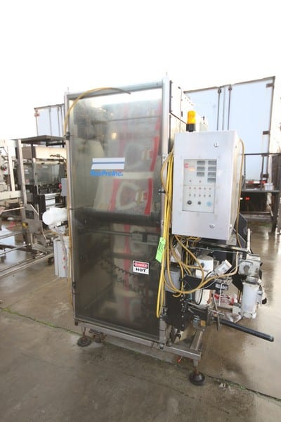 """RecPro Inc. Aprox. 25"""" Zipper Insertion Unit, M/N 22888, S/N 97031001, with S/S Panel with Control Display, with Roll Infeed"""