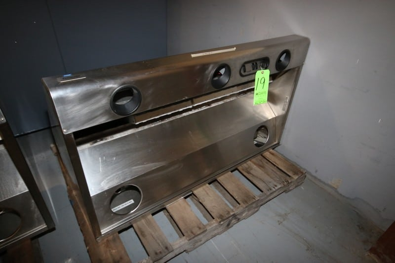 "Thermador Professional 48"" L x 27"" W x 18""T S/S Exhaust Hood with Heat Lamp Outlets(Located at the MDG Auction Showroom in Pittsburgh, PA) (Rigging, Handling & Site Management Fee $100.00)"