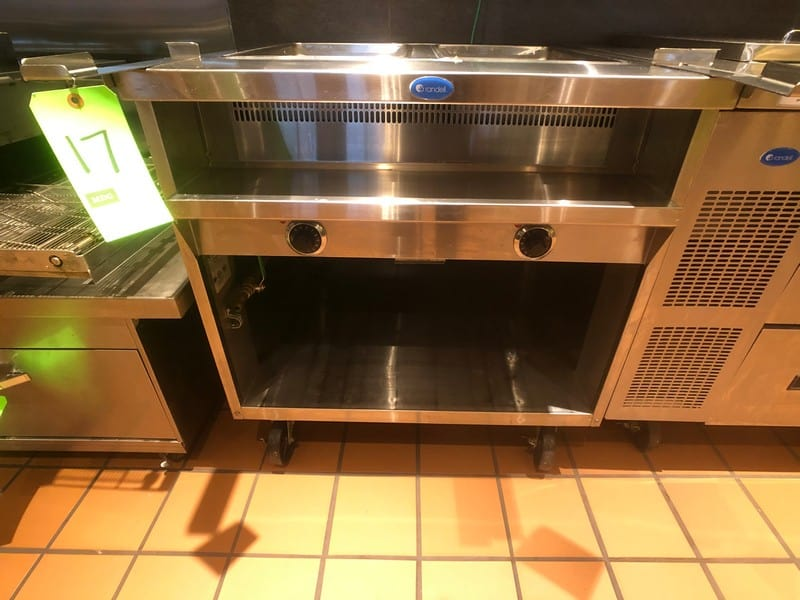 Randell Open Base Electric Hot Food Table, Model 3612-208, S/N W1041763-1, (2) Pan (Located at 6300 Northway Mall Dr., Pgh., PA 15237)
