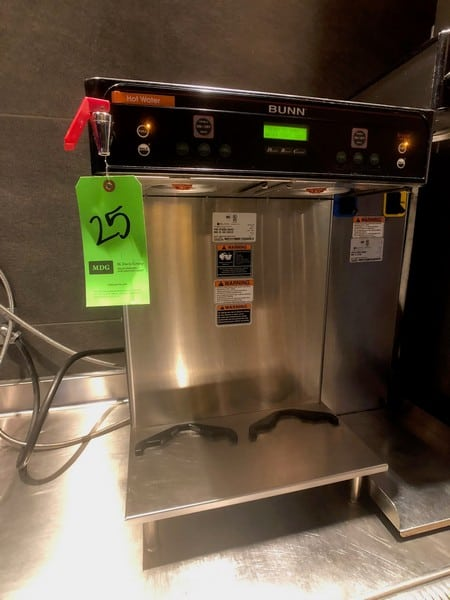 Bunn (2) Pot Coffee Maker, Model ICB-Twin, 120/208 SST, S/N ICBT022349 (Located at 6300 Northway Mall Dr., Pgh., PA 15237)