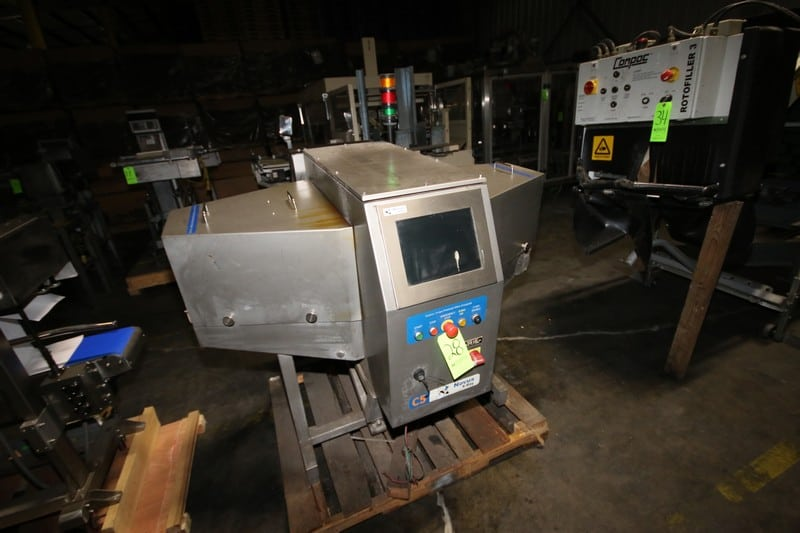 """2011 Novus S/S X-Ray, M/N C5.2-0609-5001, S/N 122411-000, with Touchscreen, with 6"""" W Conveyor"""