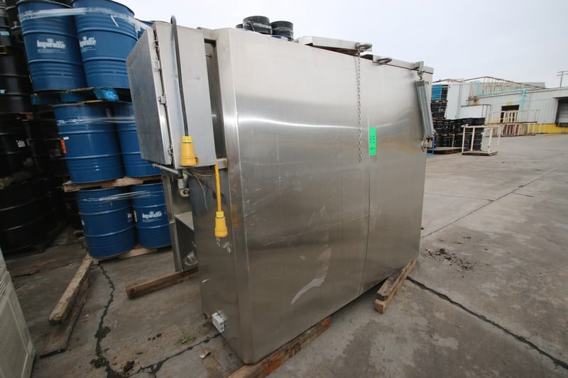 S/S Cyrogenic Tunnel, Top Fed Unit, 460 Volts (NOTE: Control Panel, S/S Legs, and Other Parts--See Photographs)