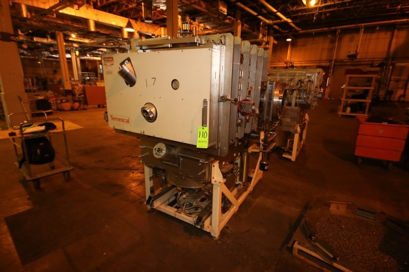 Edwards Temescal S/S Evaporator, M/N FC-4800, with Associated Piping & Valving, with Cryo-Torr 500 S/S High Vacuum Pump, Includes (1) Bin & (1) Pallet of Parts, S/N 102, Pro #: 19-2000 (LOCATED IN WAREHOUSE AREA)
