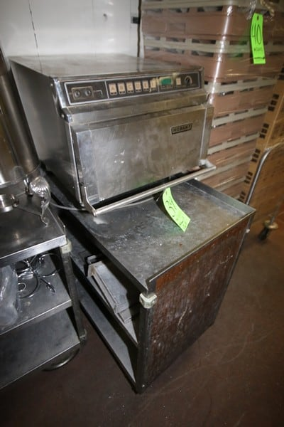 Hobart S/S Oven, M/N M1310-T, S/N 31-335-075, On Portable S/S Cart (LOCATED IN KITCHEN AREA)