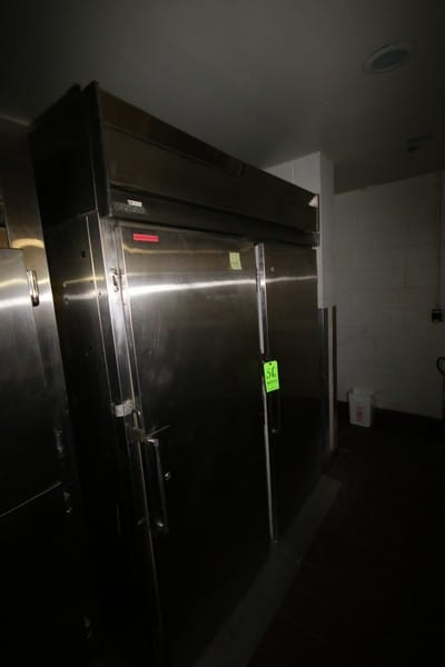 """Koch Double Door S/S Refrigerator, Overall Dims.: Aprox. 68"""" L x 35"""" W x 85"""" H (LOCATED IN CAFÉ AREA)"""