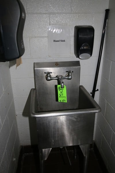 S/S Counter Tops, with S/S Sinks, Assorted Sizes, with (1) S/S Single Bowl Sink (LOCATED IN CAFÉ AREA)