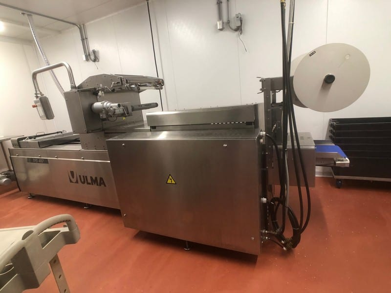 2018 Harpak Ulma S/S Thermoformer, Type TFS 407, S/N 3019981, 220 Volts, 3 Phase