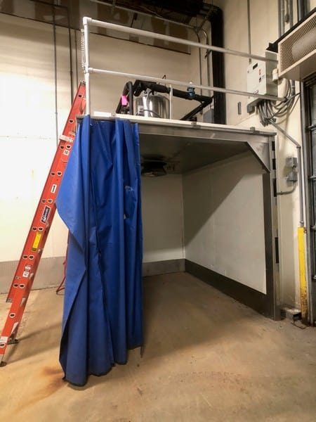 Howe Rapid Freeze Ice Flaker, Model 6000-RL, S/N 030D12F7630, 6,000 LB/Day Capacity, R4-4A Refrigerant,208-230, Single Phase