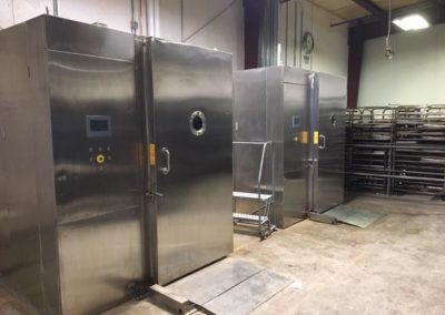 NEW Weber Vacuum Coolers (Designed for Bakery Application)Immediately AvailableVarious Locations